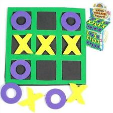 3 In a Row Game Noughts and Crosses Soft Games Travel Toys Goody Party Bag Prize