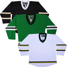 Dallas Stars NHL Style Colors  Replica Hockey Jersey   NO LOGO DJ300