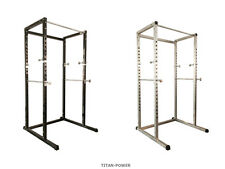 Power Cage Rack Multi Gym Weight Bench Press Squat Pull Up Bar Titan Power *NEW*