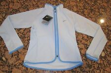 NWT Nike Girls Full-Zip Training Running Jacket Blue S M L 576535