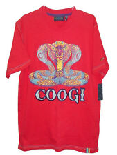 NWT COOGI COTTON RHINESTONE EMBROIDERY T-SHIRT TEE TOP MENS M