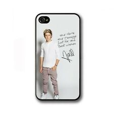 ★ ONE DIRECTION 1D UK Niall Horan Tour CD★ 2014 Case iPhone 5 5c 5S 4 4S COVER ★
