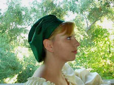 RENAISSANCE VICTORIAN SCA COSTUME WENCHES MUFFIN CAP HAT IN YOUR SIZE AND COLOR!