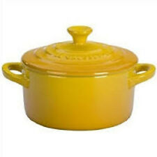 LE CREUSET ONE  MINI ROUND COCOTTE WITH LID NEW IN BOX CHOOSE FROM 12 COLORS