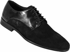 Just Cavalli Leather & Suede Formal Shoes
