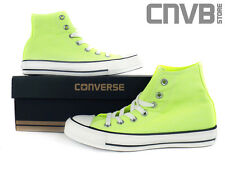 CONVERSE  CT HI  neon yellow 136582C  NEW  ALL STAR  CHUCK HI TAYLOR  DAMEN
