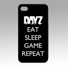 DayZ Eat Sleep Game Repeat -iPhone 4/4s & 5