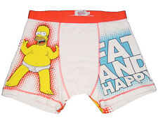 NEW THE SIMPSONS HOMER FAT AND HAPPY BOXER BRIEF TRUNK UNDERWEAR MENS M, XL
