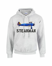 Stearman ARMY  Hooded Sweatshirt FREE SHIPPING