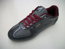 VOI JEANS MURANO SILVER GREY FASHION TRAINER SHOE MENS SIZES UK 6,7,8,9,10.11