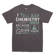 ARGON CHEMISTRY JOKE T-shirt funny nerdy nerd geeky geek MEN'S SIZES S-XXL