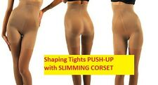 P114 PUSH UP TIGHTS shapewear leggings lift up slimming anticellulite 20 DEN