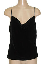NWT $68 BANANA REPUBLIC SILK VELVET SEXY DRAPEY CAMI TANK PARTY TOP S, M