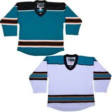 San Jose Sharks Customized  Replica Style  Hockey Jersey W/ NAME & NUMBER  DJ300