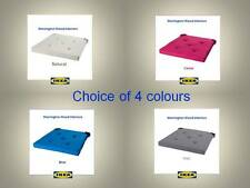 IKEA 'JUSTINA' DINING SEAT / CHAIR PADS / CUSHIONS - 4 GREAT COLOURS