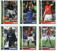 TOPPS MERLIN PREMIER STARS 2006 FOOTBALL CARDS NEW STRAIGHT FROM THE PACKETS
