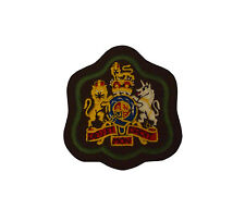 BRITISH ARMY WARRANT OFFICER BADGE - VARIOUS COLOURS - GRADE 1 CONDITION