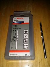 Bosch Reisser Metal HSS-G Ground Jobber Twist Drill Bit Steel Iron German Metric