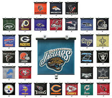 Roll-Up Auto Sun Screen/Shade *NFL Football* (AFC/NFC) *Select Your Team*
