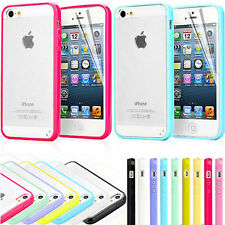 TPU BUMPER CASE FOR APPLE iPHONE 4 4S & iPHONE 5 5S COVER