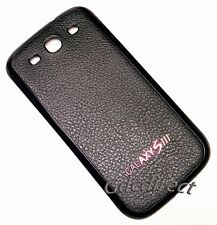 PU Leather Galaxy S3 S 3 Back Cover Battery Door i9300 T999 L710 i747 i535 Case