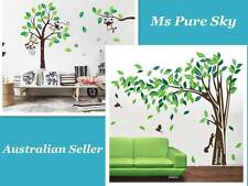 Au Seller Large Monkey on the Tree & Elegant Tree Rabbit Removable Wall Stickers