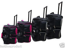 XXL Extra Large Trolley Wheeled Luggage Travel Suitcase Holdall Case Duffle Bag