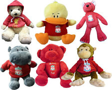 Liverpool Teddy Bears - 5 varieties - Bears, Monkeys, Rhinos!