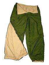 BRITISH ARMY (SOFTIE) REVERSIBLE THERMAL TROUSERS - GRADE 1 - WITH STUFF SACK