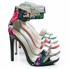 Canter Classy Dress Open Toe Buckle Ankle Strap Stiletto Heel Sandal