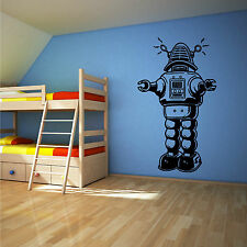 ROBOT RETRO VINTAGE OLD STYLE vinyl wall art sticker decal