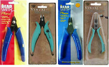 BEADSMITH Quality Flush Cutters Pliers -  Micro Crimpers - Craft wire Jewellery