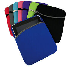 """Carrying Sleeve Neoprene Cover Bag Case For 10"""" Laptop / iPad / Tablet"""