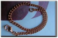 Solid Copper Anklet CA653G - Available in 8, 8 1/2, 9, 9 1/2, 10, 10 1/2 & 11""