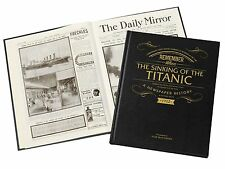 Personalised Titanic History Newspaper Book Memorabilia Gift