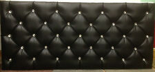 LEATHER HEADBOARDS DIAMONDS - ALL SIZES & COLOUR AVAILABLE SALE NOW ON
