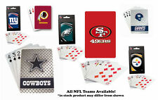 NFL NEW Poker Deck Playing Cards - CHOOSE YOUR TEAM