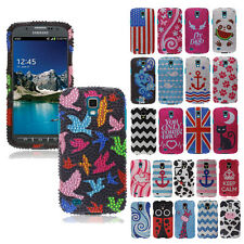FOR Samsung Galaxy S4 Active I537 I9295 Phone Bling Diamond Cover Hard Case