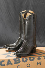 CABoots, Cowboy, Western, Genuine Caiman Boots  Made in USA