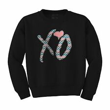 XO The Weeknd ovoxo Drake Thursday love illest Paris heart Crewneck sweatshirt