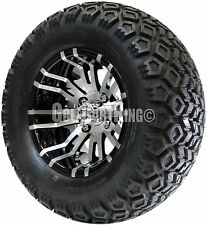 "12"" RHOX RX270 Wheel with Tire Combo and EZGO Golf Cart Lift Kit"