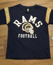St. Louis Rams NFL Team Apparel Tee New With Tags