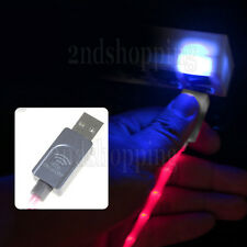 Touch On/Off LED Lighting 8 Pin USB Data Sync Charger Cable For iPhone 5G 5C 5S