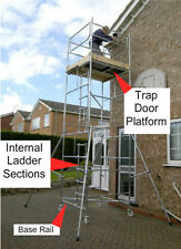 Internal Ladder TrapDoor BaseRail Kit Toptower DIY (Scaffold Tower NOT Included)