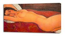 AMEDEO MODIGLIANI Reclining Nude CANVAS PRINT Wall Decor Art Painting Giclee