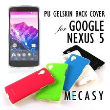 Mecasy PU Gels Skin Back Cover Case for LG Google Nexus 5 Phone Case USA VOIA