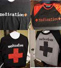 "Rock Band ""Medication"" T-Shirts - Variety of Styles and Sizes"