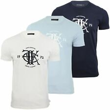 Mens T-Shirt By French Connection/ FCUK Seal Marlon Crew Neck Short Sleeve
