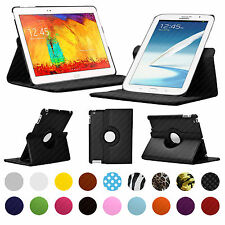 "CASE FOR SAMSUNG GALAXY NOTE TABLETS 8.0, 10.1"" INCH 360° ROTATING COVER STAND"