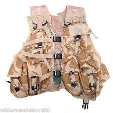 Desert Combat Tactical Waste Coat / Vest Military Surplus, Army Issue, Sand Camo